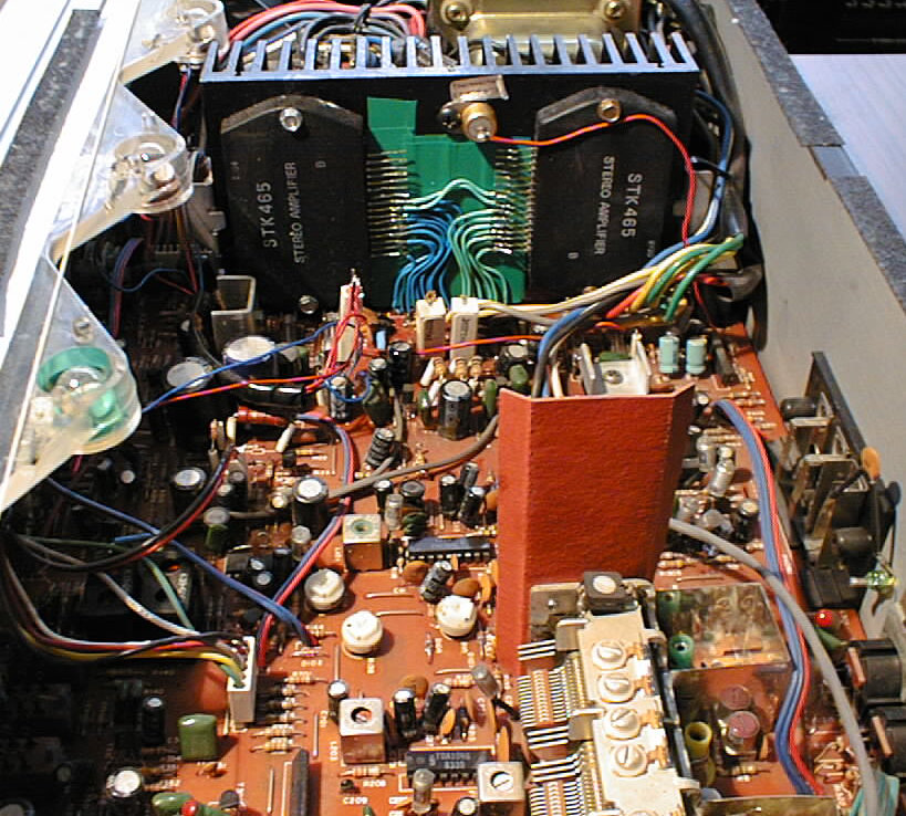 Fixing The Power Amp Section In The Telefunken Rr100 By